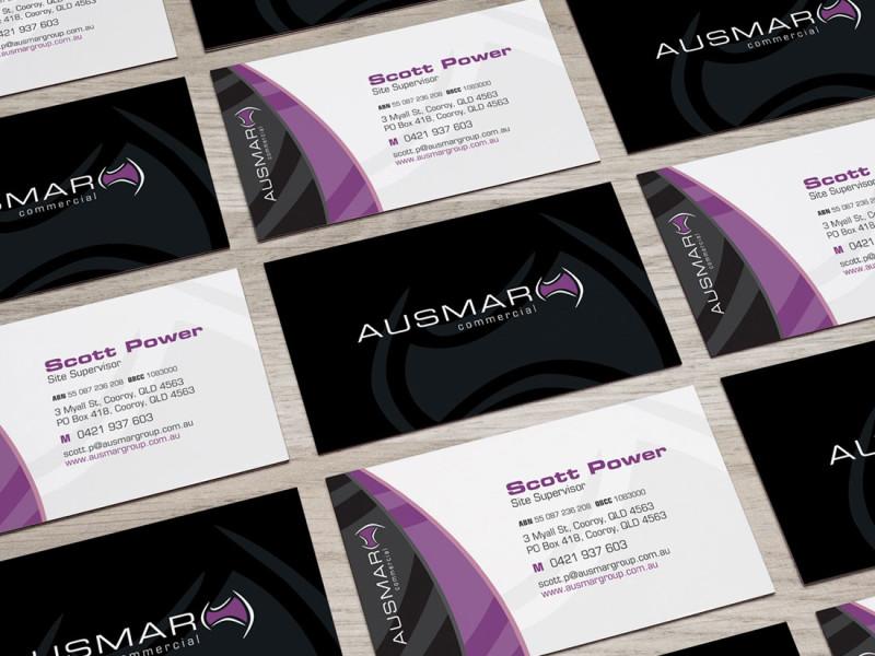 Ausmar Commercial business cards