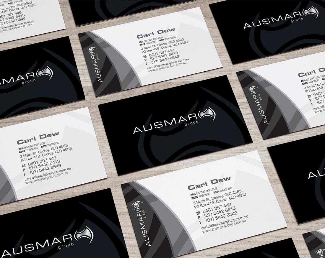 Ausmar Group business cards