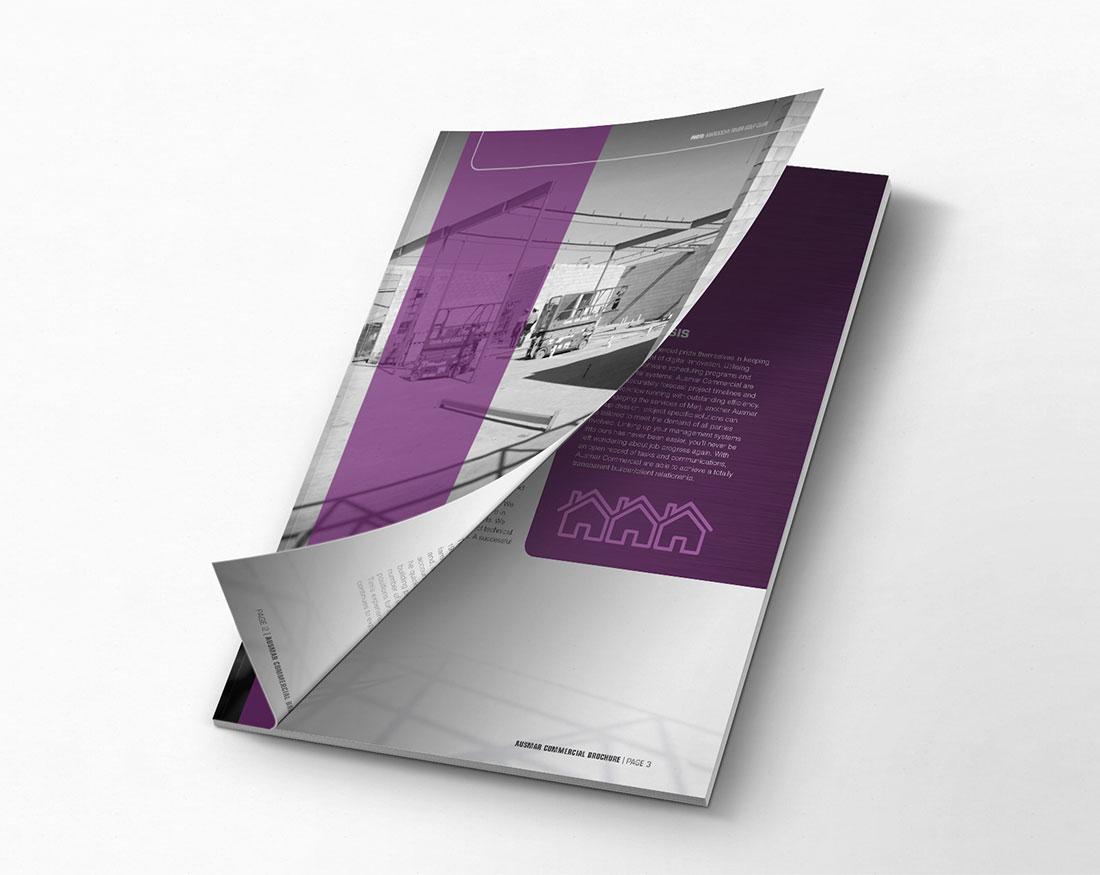 Ausmar Commercial brochure cover