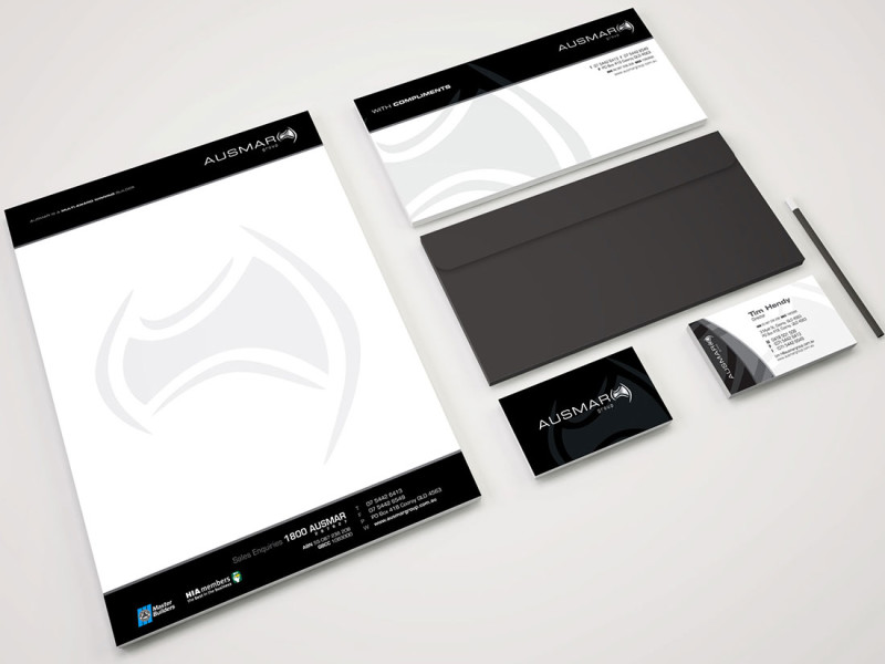Ausmar Group stationary