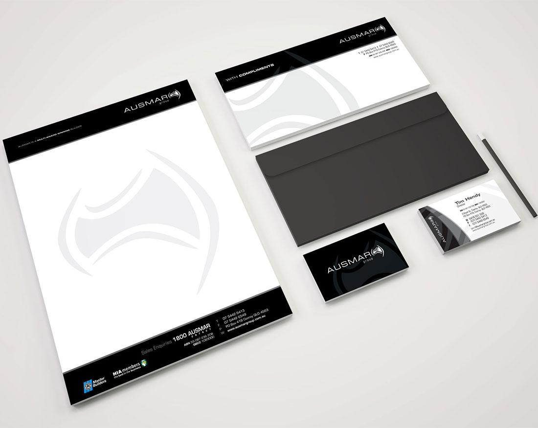 Ausmar Group stationary