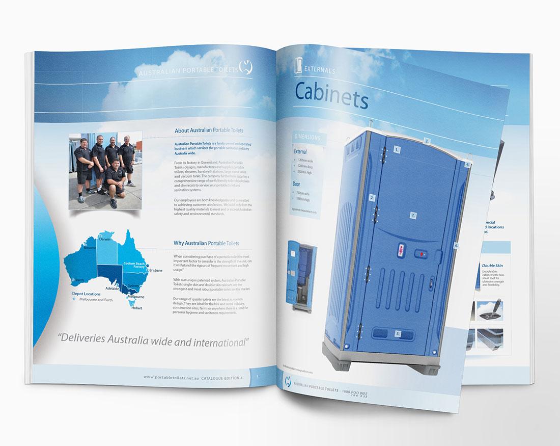Australian Portable Toilets brochure