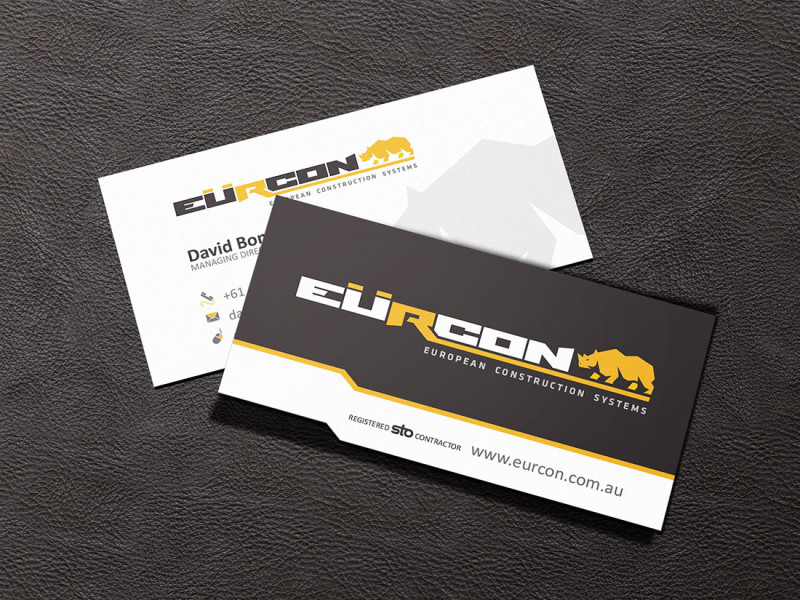 Eurcon business card
