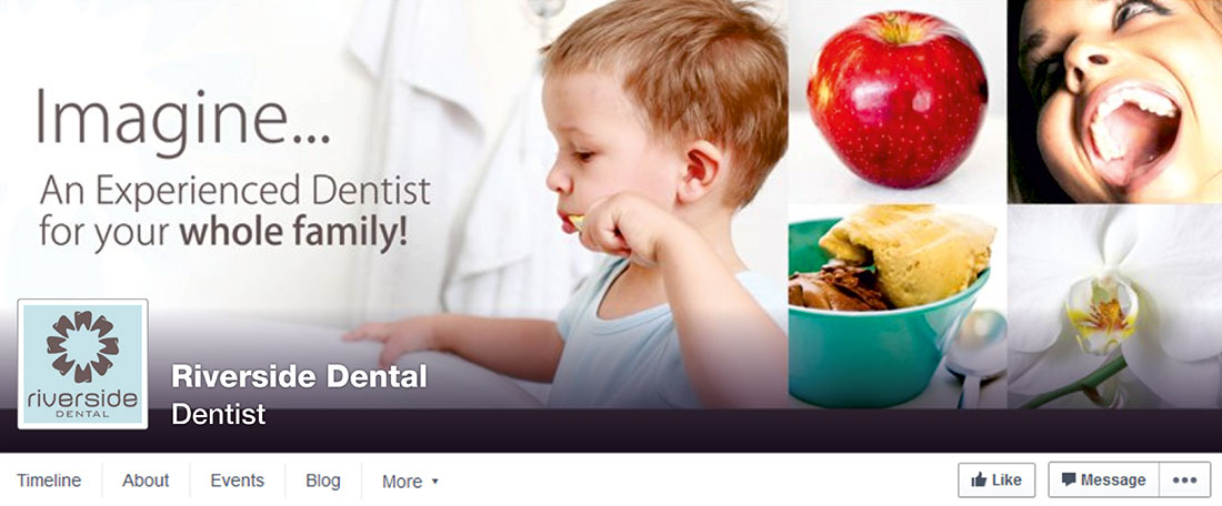 Riverside Dental Facebook cover image