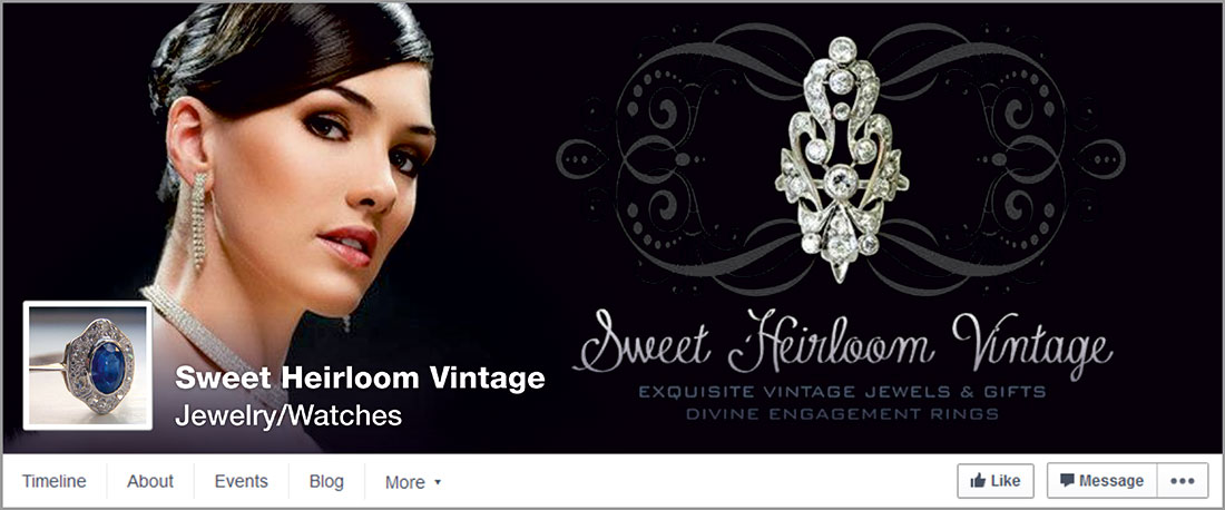 Sweet Heirloom Vintage Facebook cover image