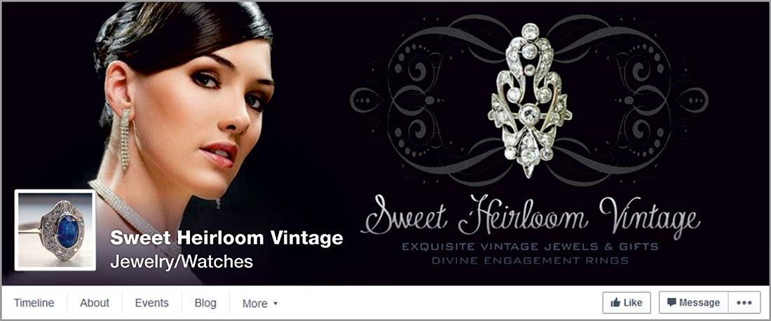 Sweet Heirloom Vintage Facebook cover image