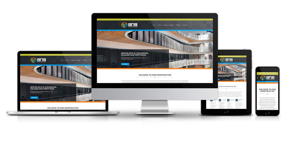 ANB Construction website