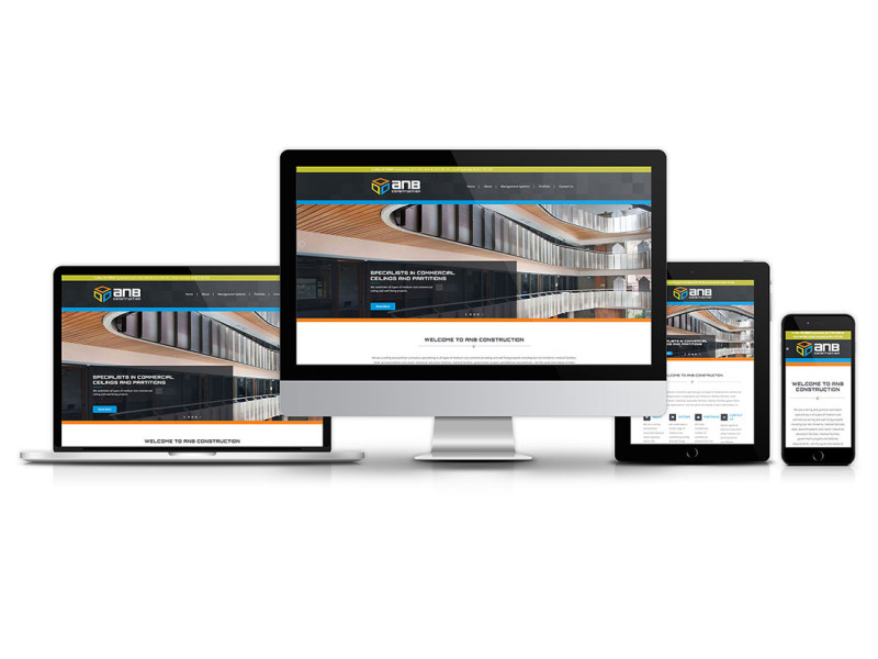 ANB Construction website