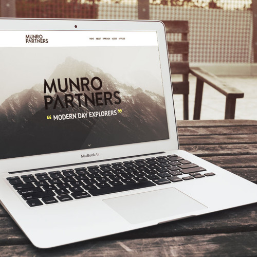 Munro Partners website