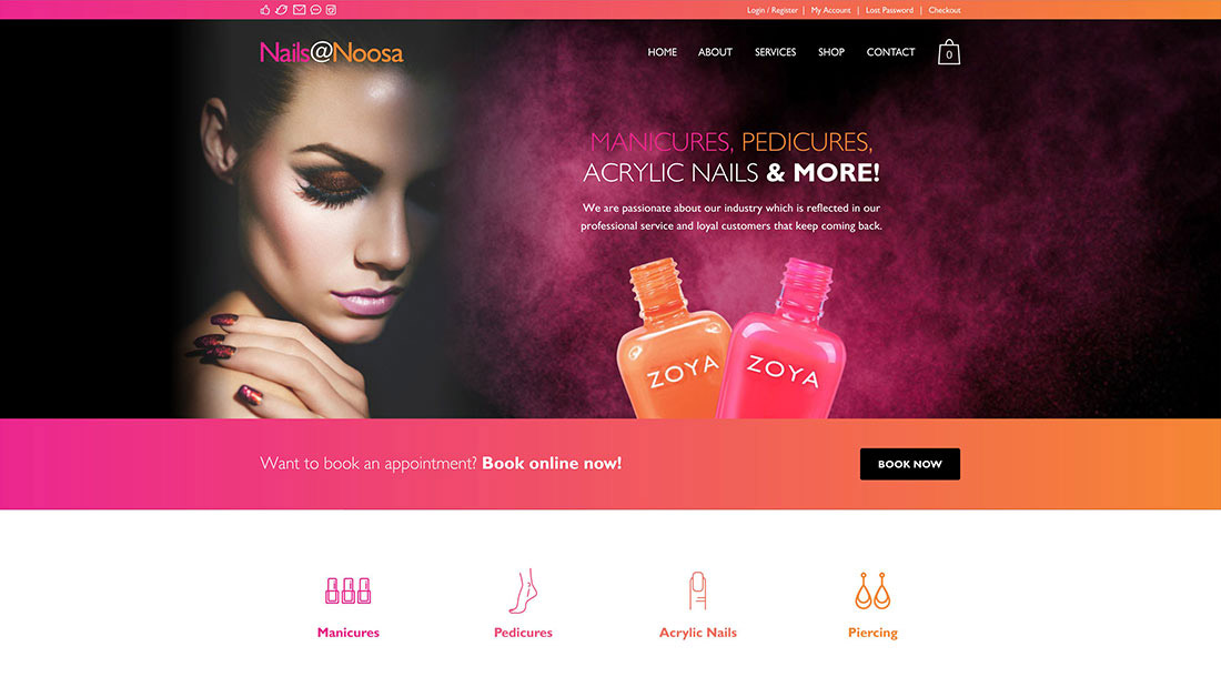 Nails at Noosa new home page