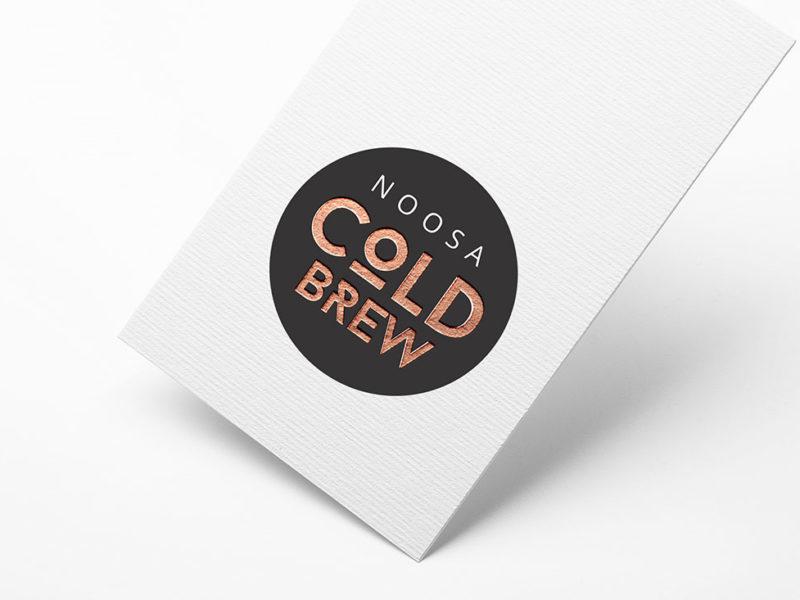 Noosa Cold Brew foil card