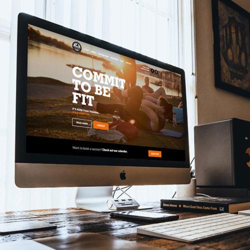 Bootcamp Noosa website