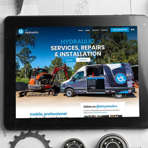 BT Hydraulics website