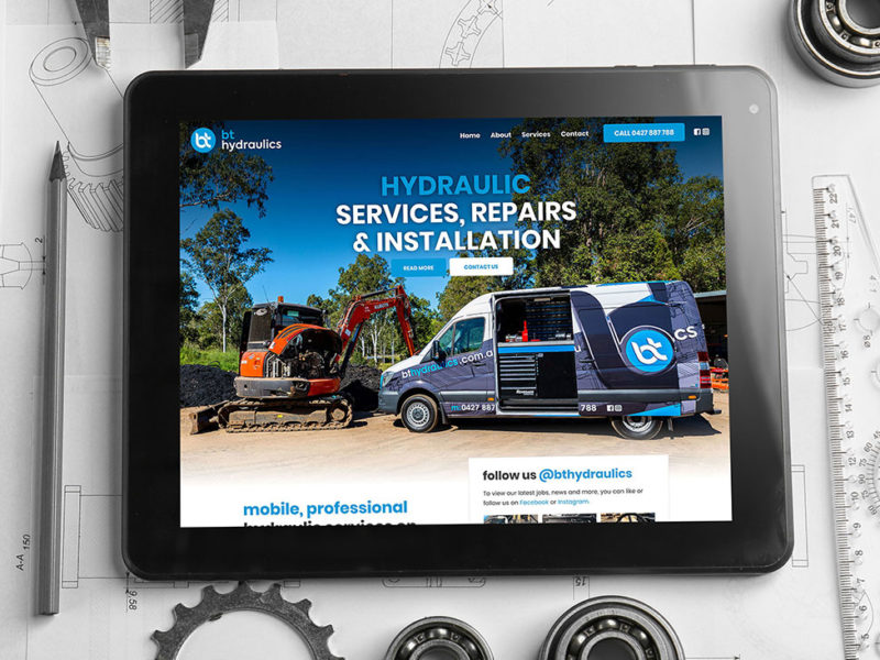 BT Hydraulics website