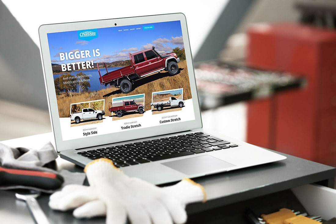 Limitless Chassis website