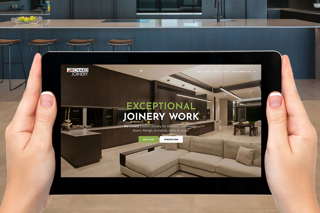 Orchard Joinery website